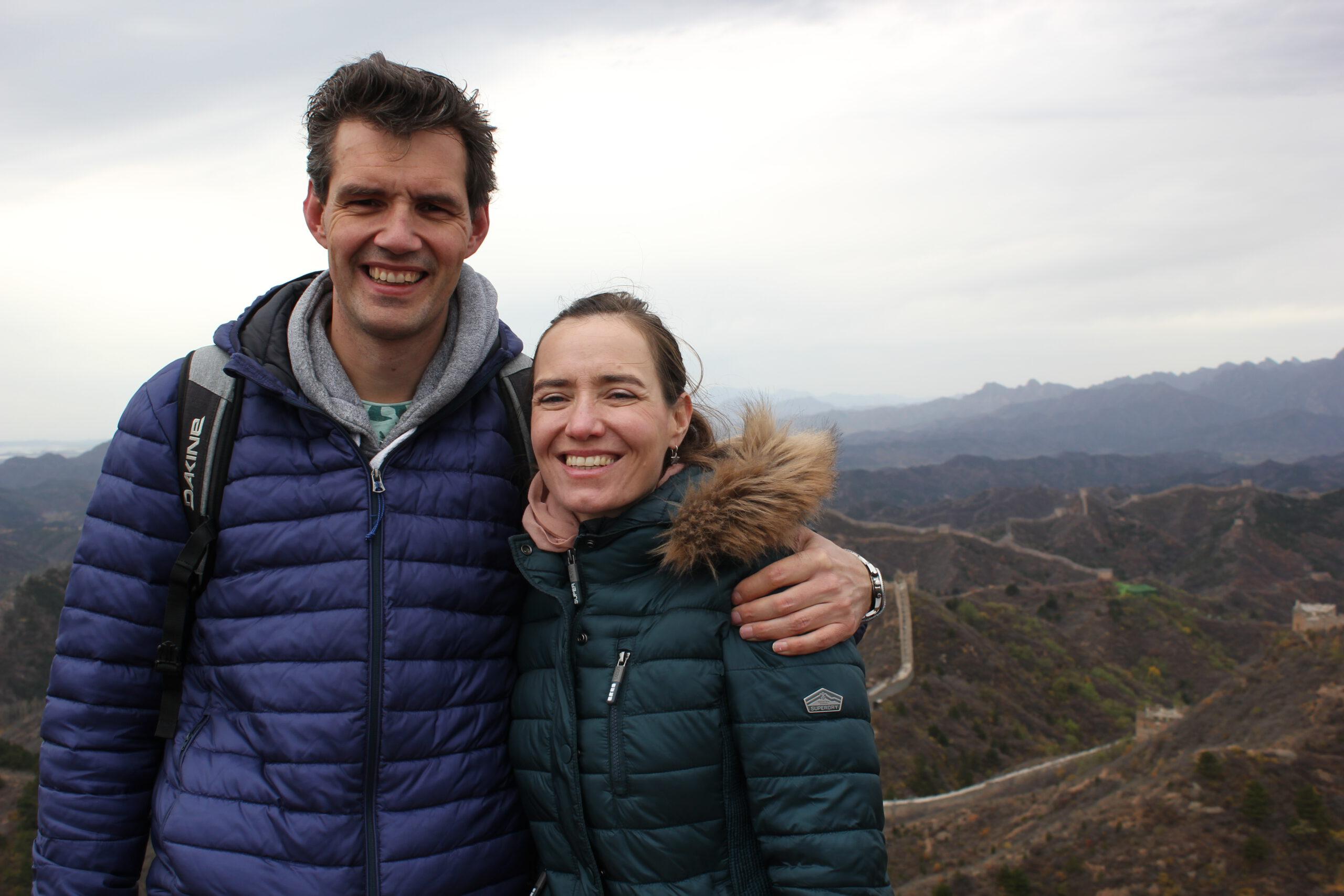 Reisblog Reisgelukjes door Maaike op de Chinese Muur