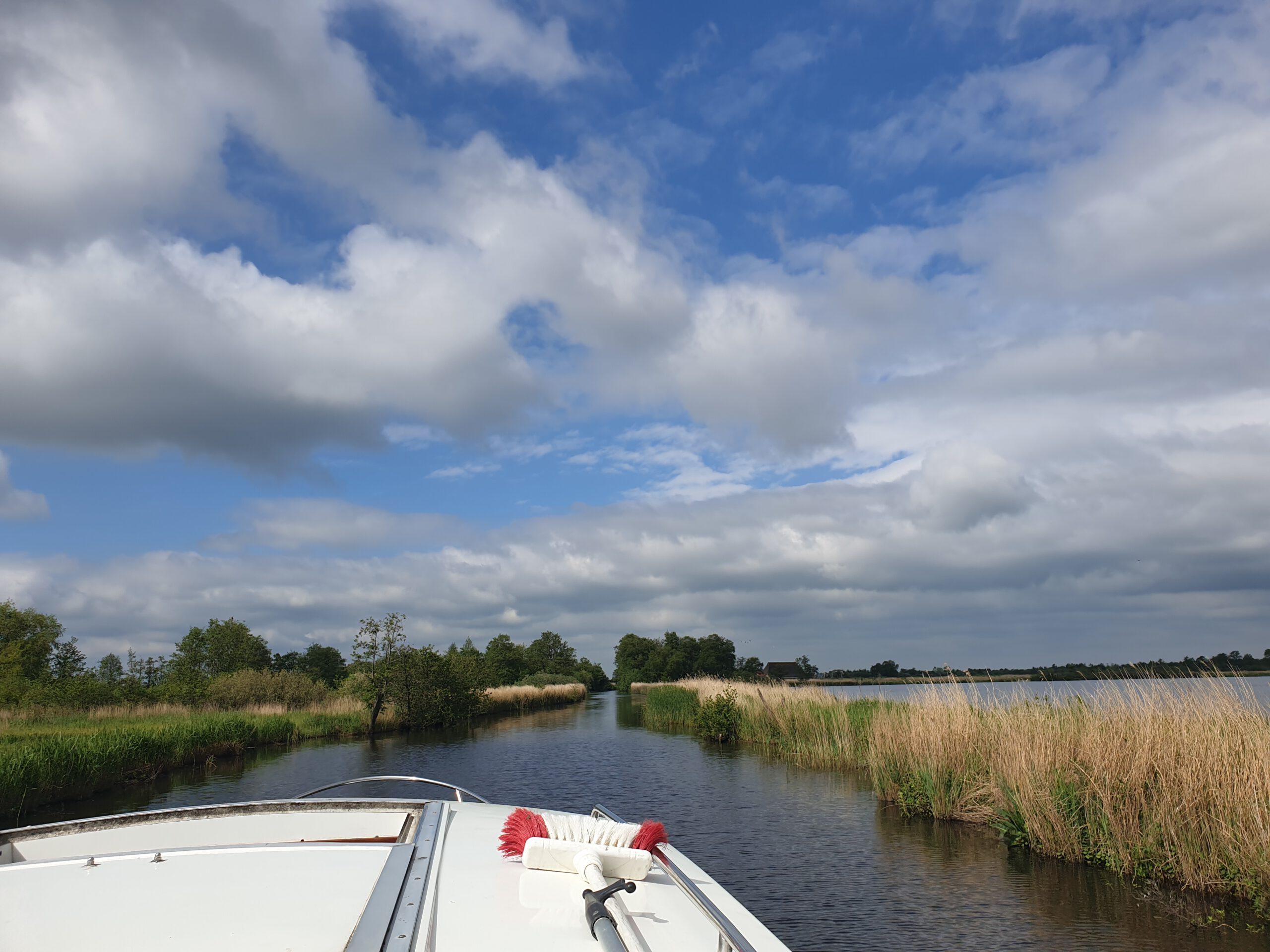 Elfstedentocht varen - Alde Feanen - Reisgelukjes