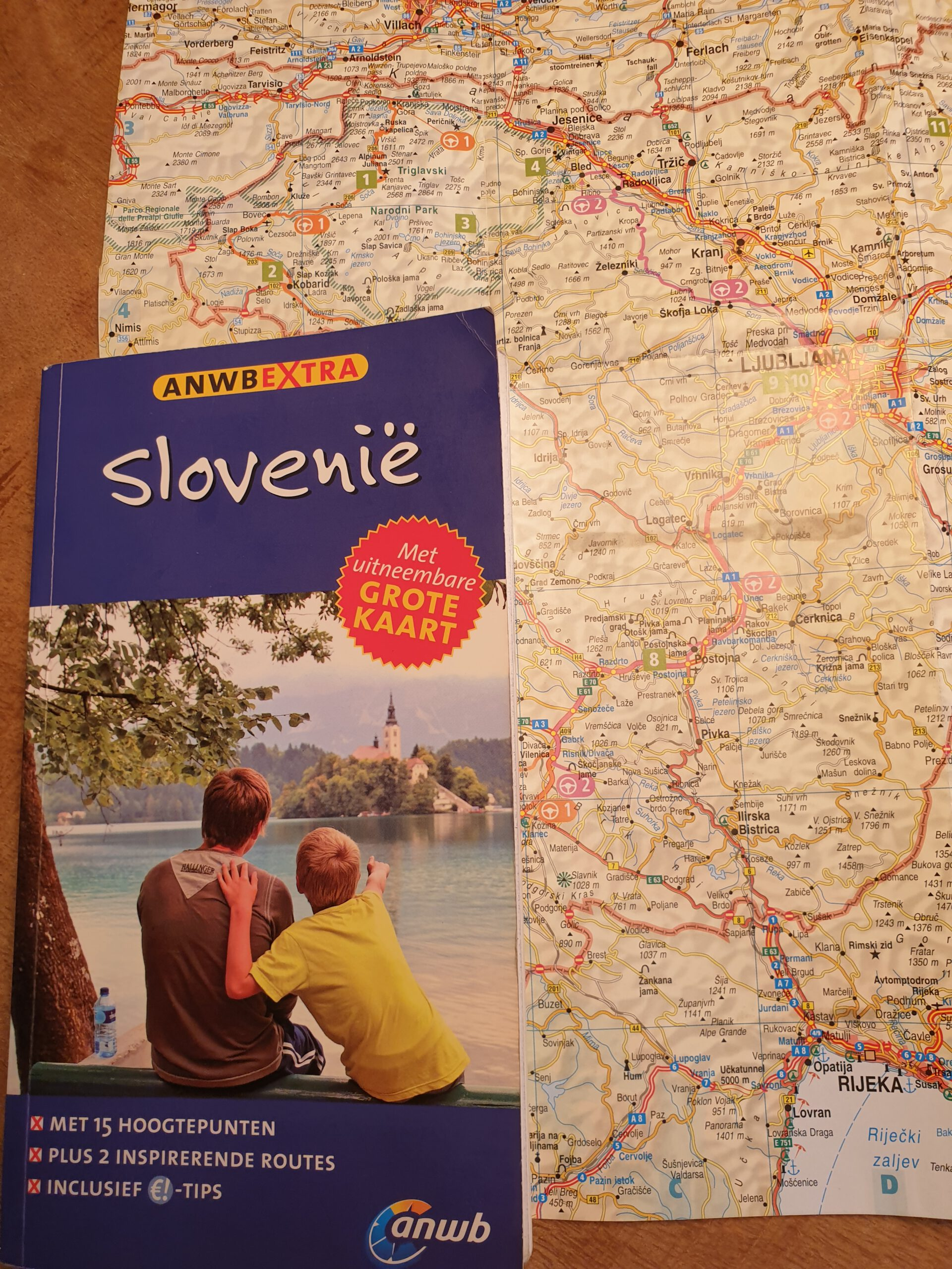 Reisgidsen ANWB Extra - Reisgelukjes - Reisgids Slovenië