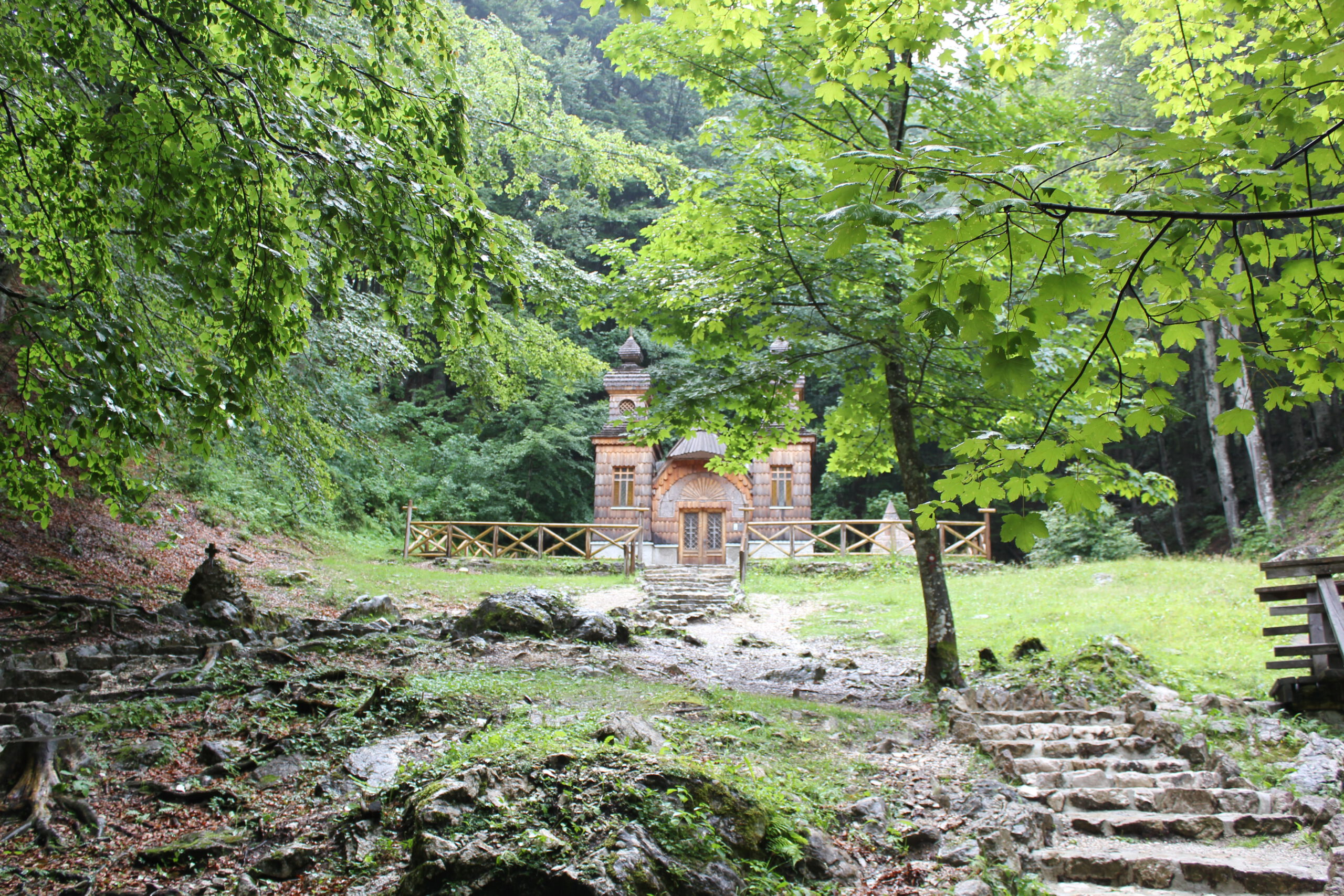 Reizen in Slovenië - Reisgelukjes - Russische Kapel