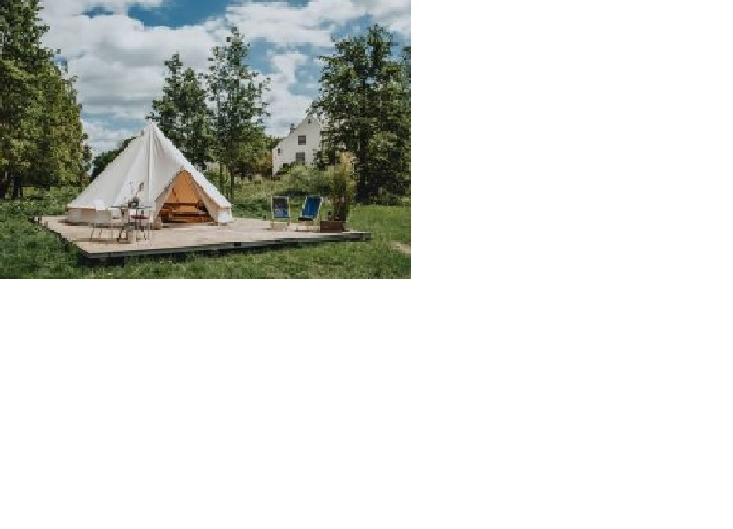 Pop-up camping en glamping - Reisgelukjes - Slot Doddendael