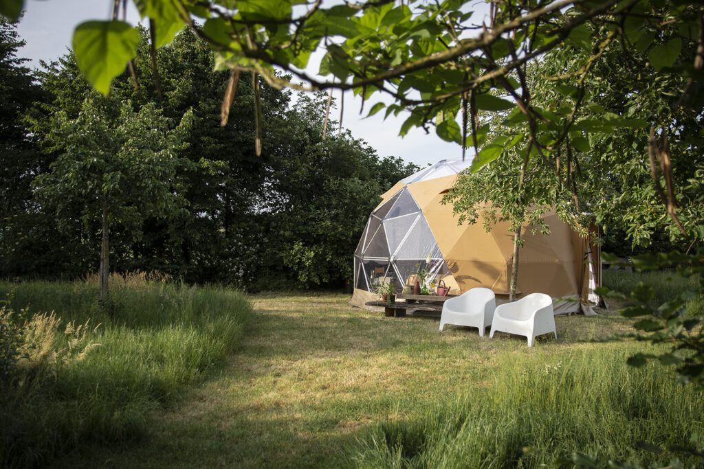 Pop-up camping en glamping - Reisgelukjes - Waar het Wondert
