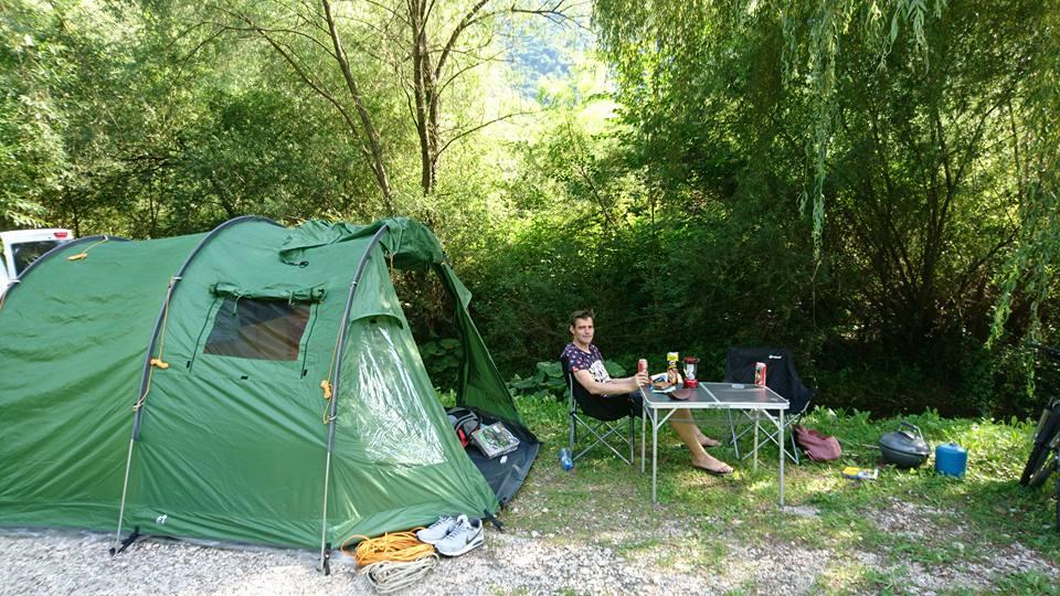 Reizen in Slovenië - Reisgelukjes- camp vili volarje tolmin