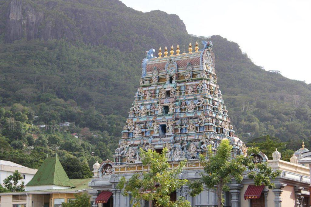 Hindoestaanse tempel op Mahe