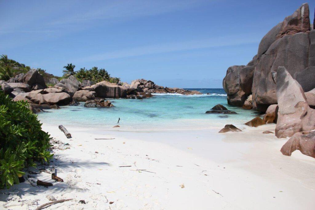 Anse Coco, een gratis prachtig strand op de Seychellen