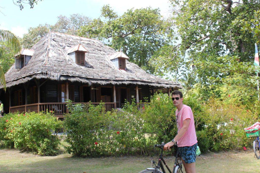 Oude plantagewoning op L'Union Estate op La Digue - Seychellen