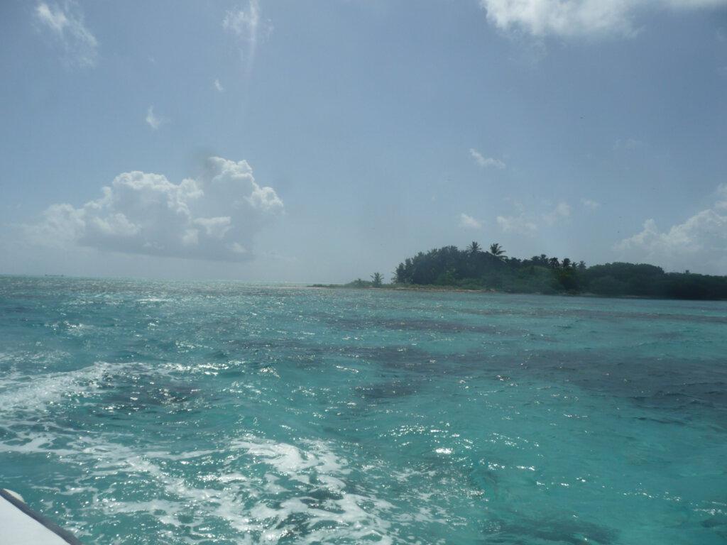 Zo mooi, met de boot door de Cayes van Belize varen