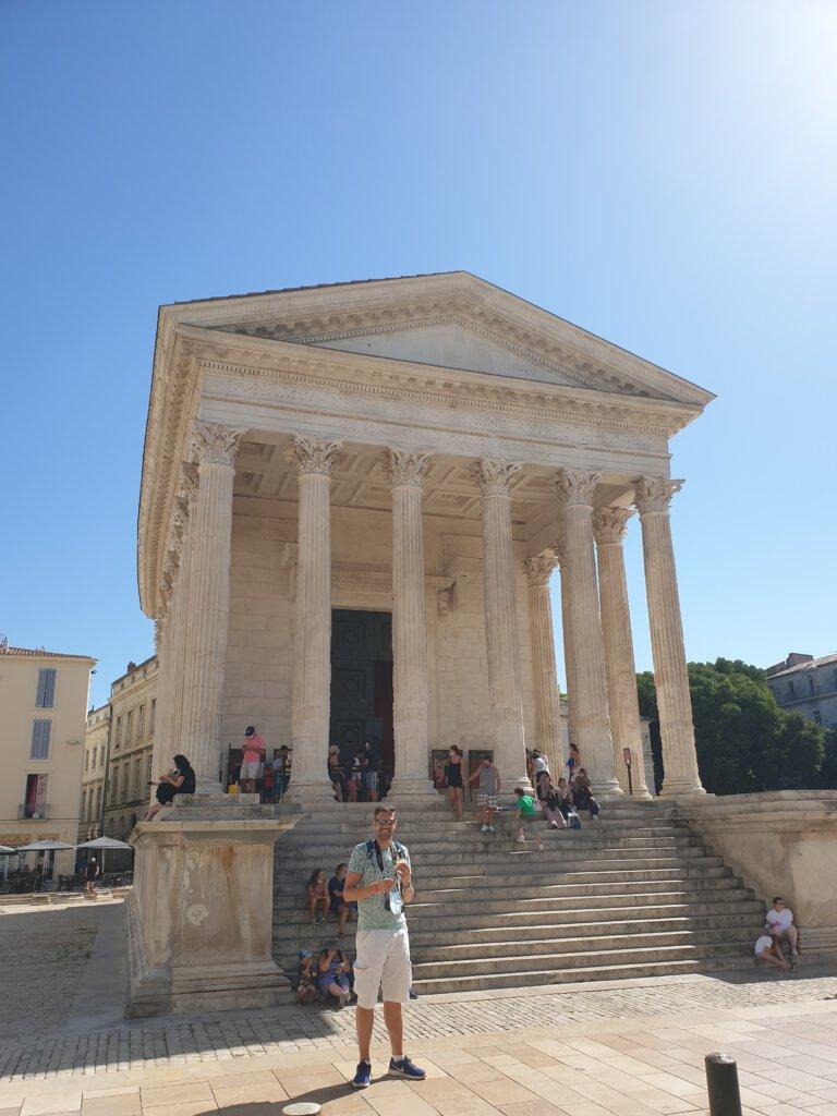 Highlight van Nimes: Facade van Maison Carree
