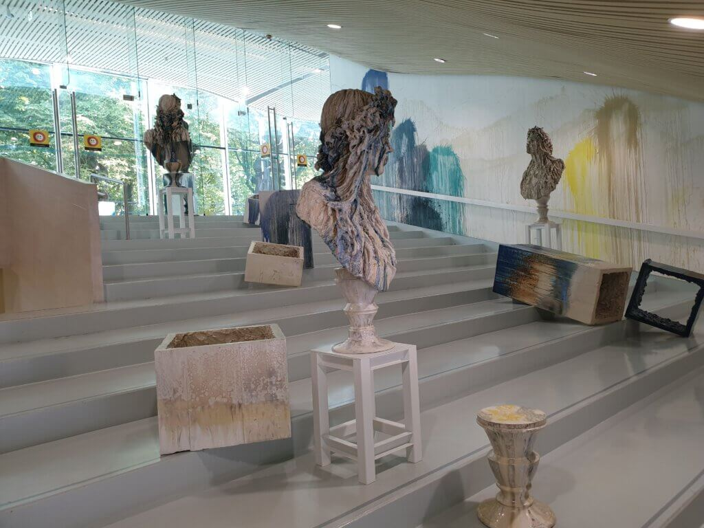 Moderne kunst in Museum Het Valkhof