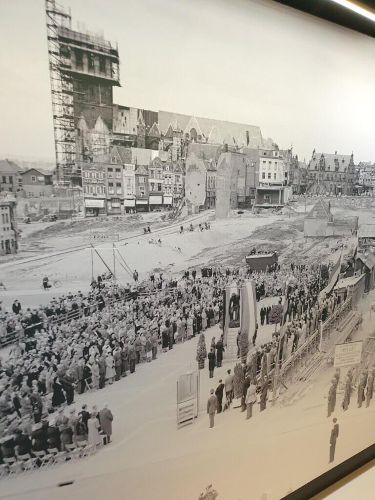 Dit was er over van Nijmegen aan het eind van de Tweede Wereldoorlog