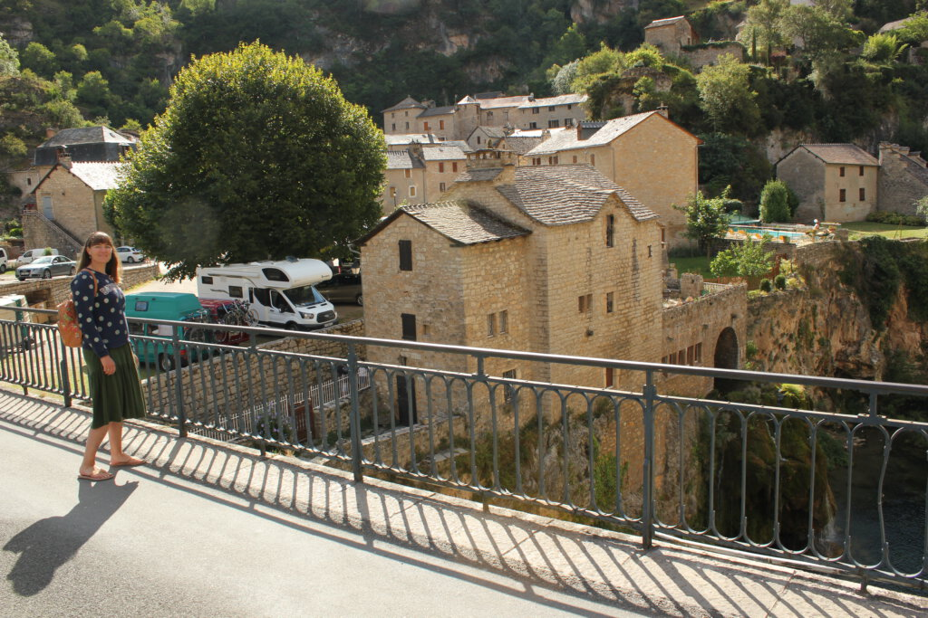 Gorge du Tarn bij St-Chely-du-Tarn