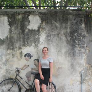 Profielfoto van mijzelf, gemaakt in Penang