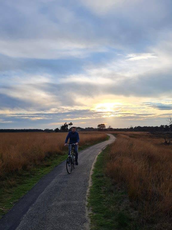Heerlijk fietsen in het Nationale Park de Hoge Veluwe