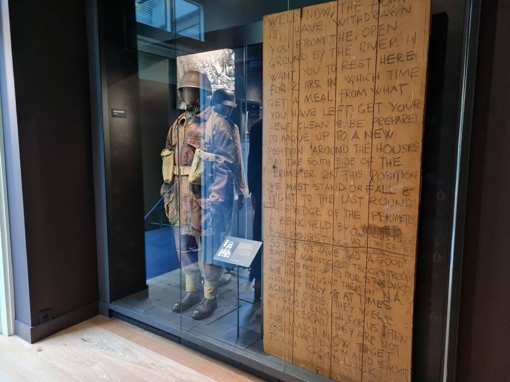 Historie in Airborne Museum at Hartgenstein