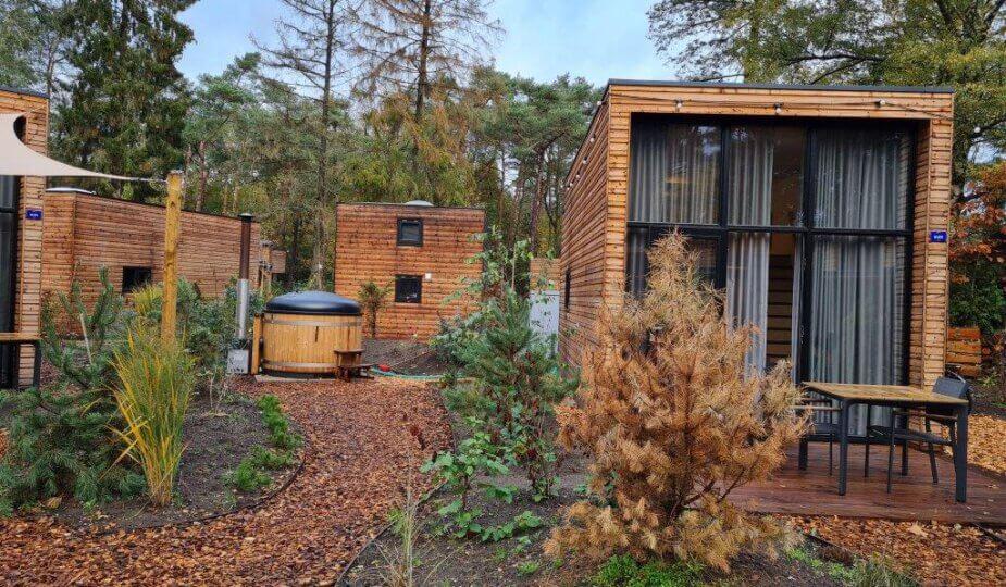 Slapen in een tiny house op de Veluwe