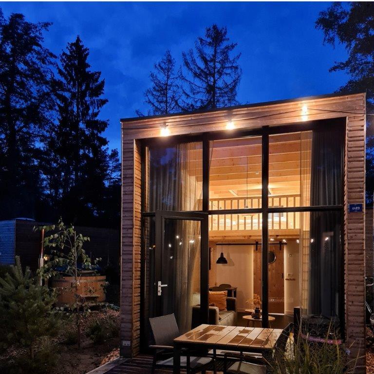 Slapen in een tiny house op de Veluwe in mijn reistop-10 2020