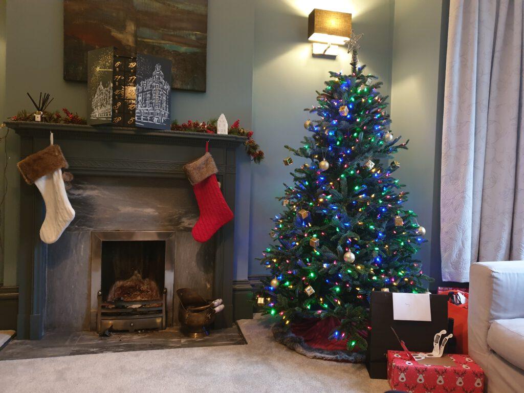 Kerstsokken tijdens een echte Engelse Kerst