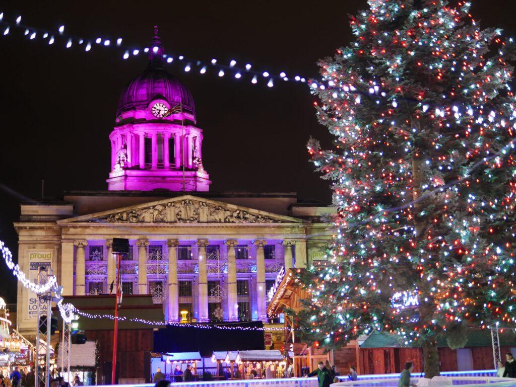 Een typisch Engelse Kerst: Kerstmarkt in Nottingham