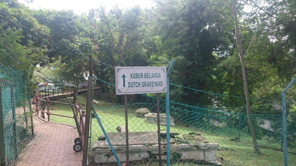Nederlandse begraafplaats in Malakka