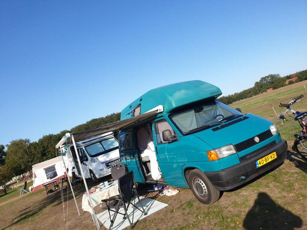Coolste camping voor tweedehands campers
