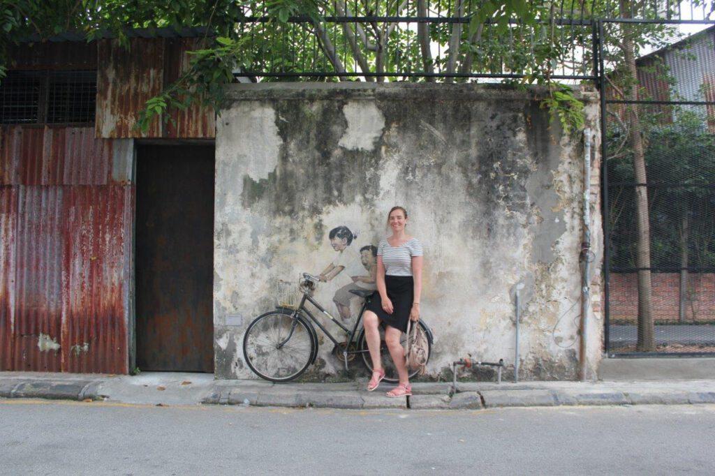 Een highlight van mooi Maleisië: streetart in Georgetown