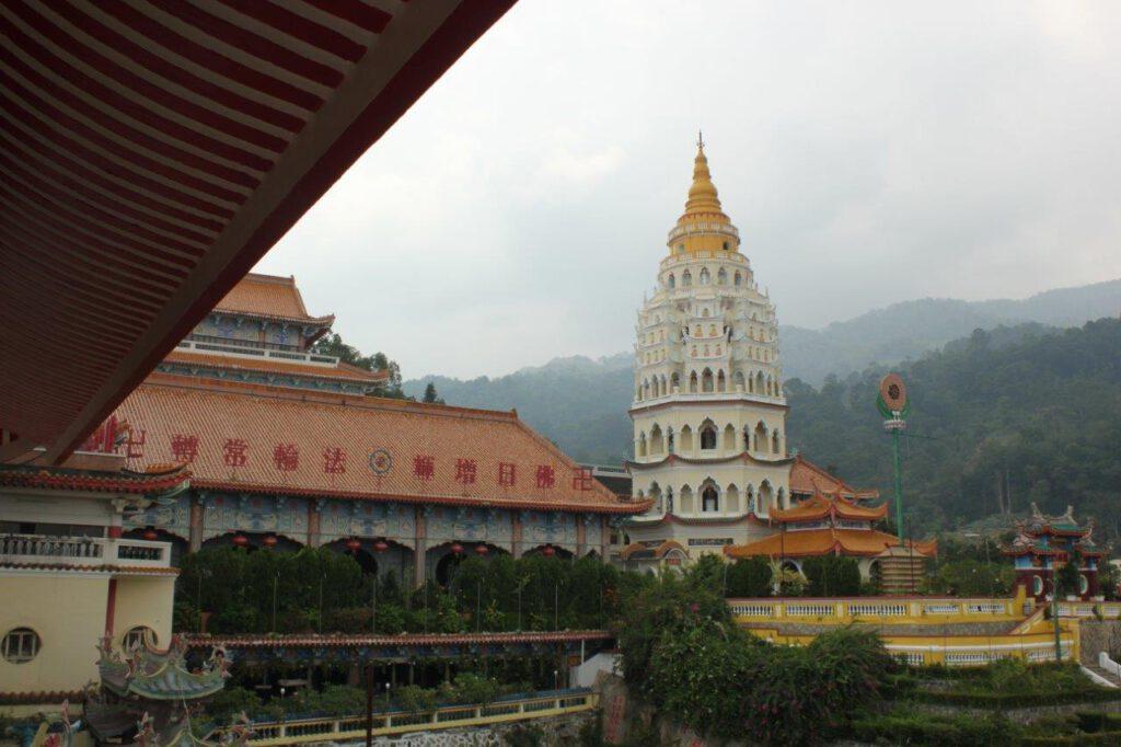 Eén van de hightlights van mooi Maleisië: de Kek Lok Si tempel