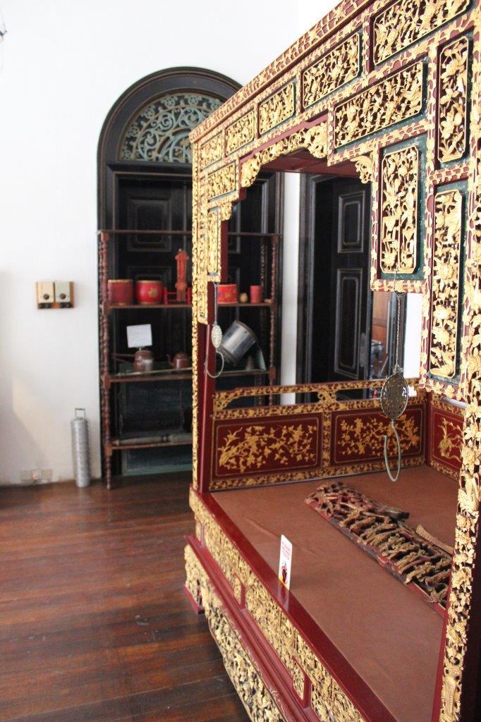 Interieur van Cheong Fatt Tze Mansion