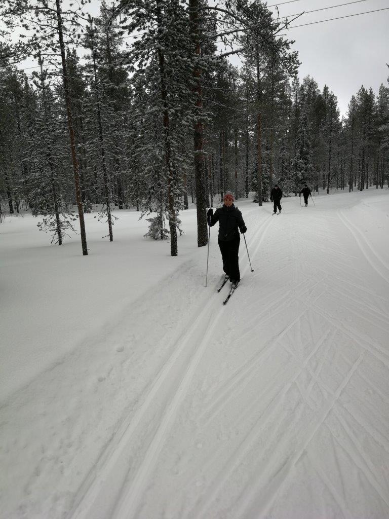 Langlaufen is een intensieve wintersport