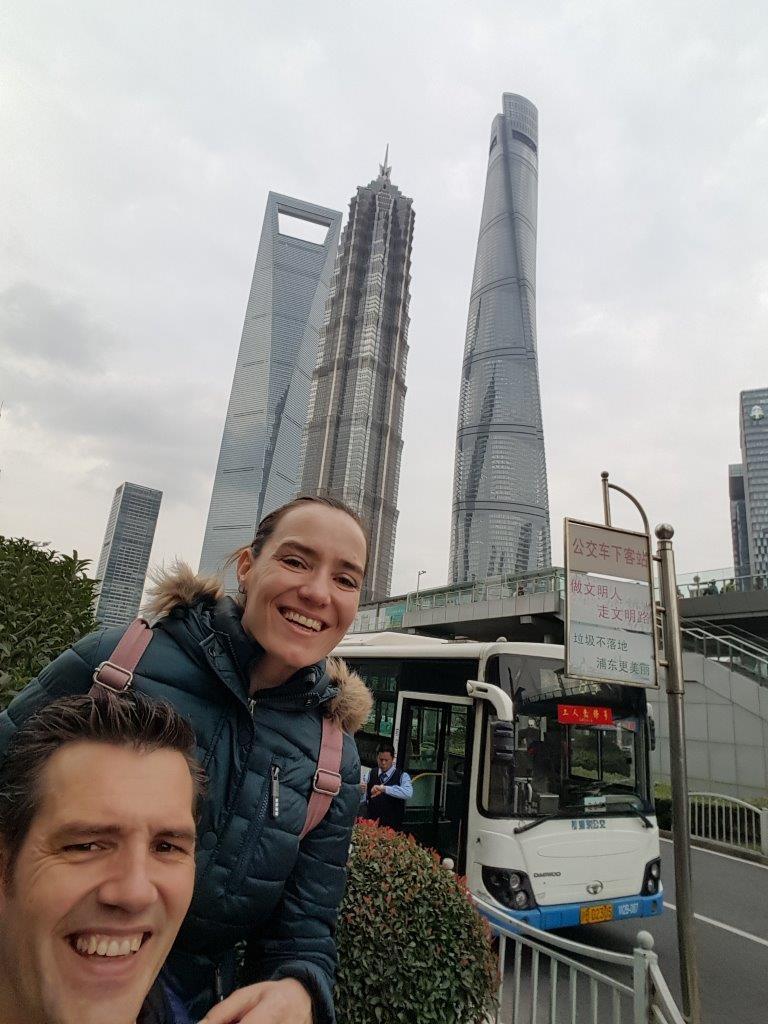 De Shanghai toren is een must-see tijdens 2 weken China