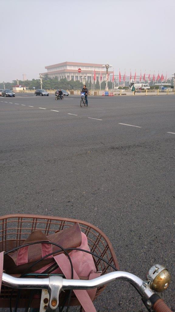 Fietsen door Beijing