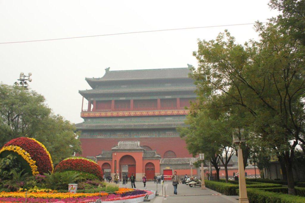 De Drum toren in Beijing, China