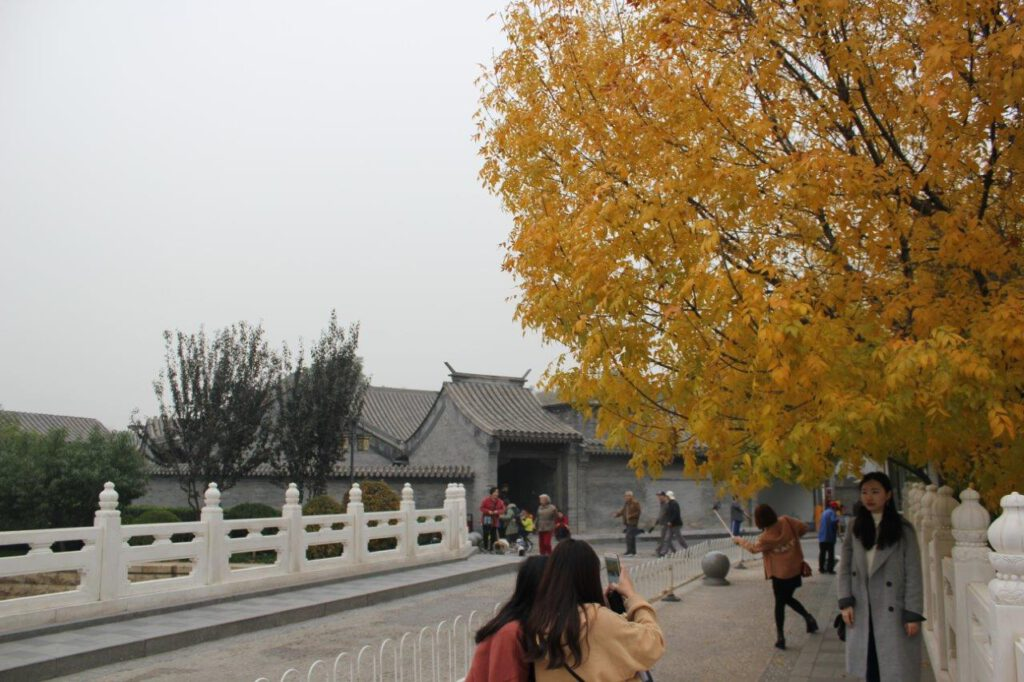 Historische Hutong rond Nanluogu Xiang in Beijing