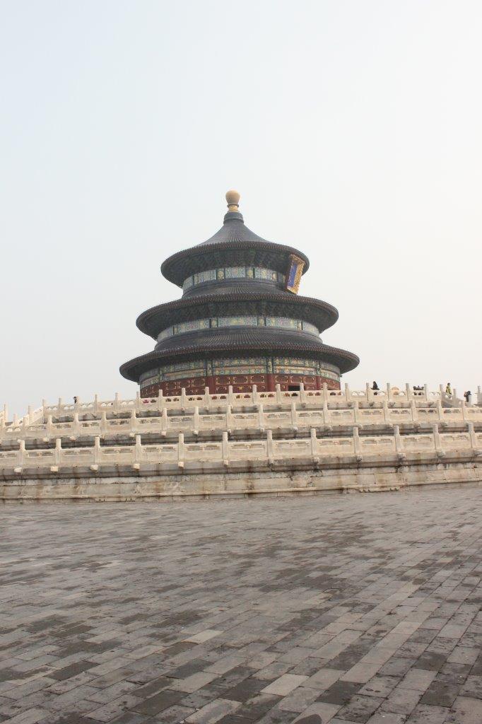 Gebedshal in Het Hemelpark van Beijing