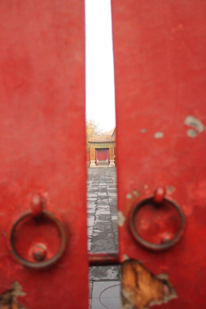 Doorkijkje in de Verboden Stad in China