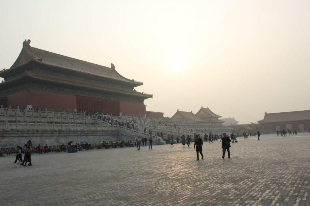 De Verboden Stad in Beijing