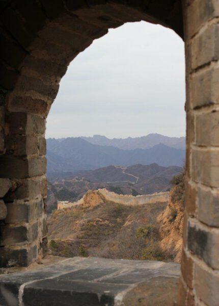 Chinese muur bij Jinshanling