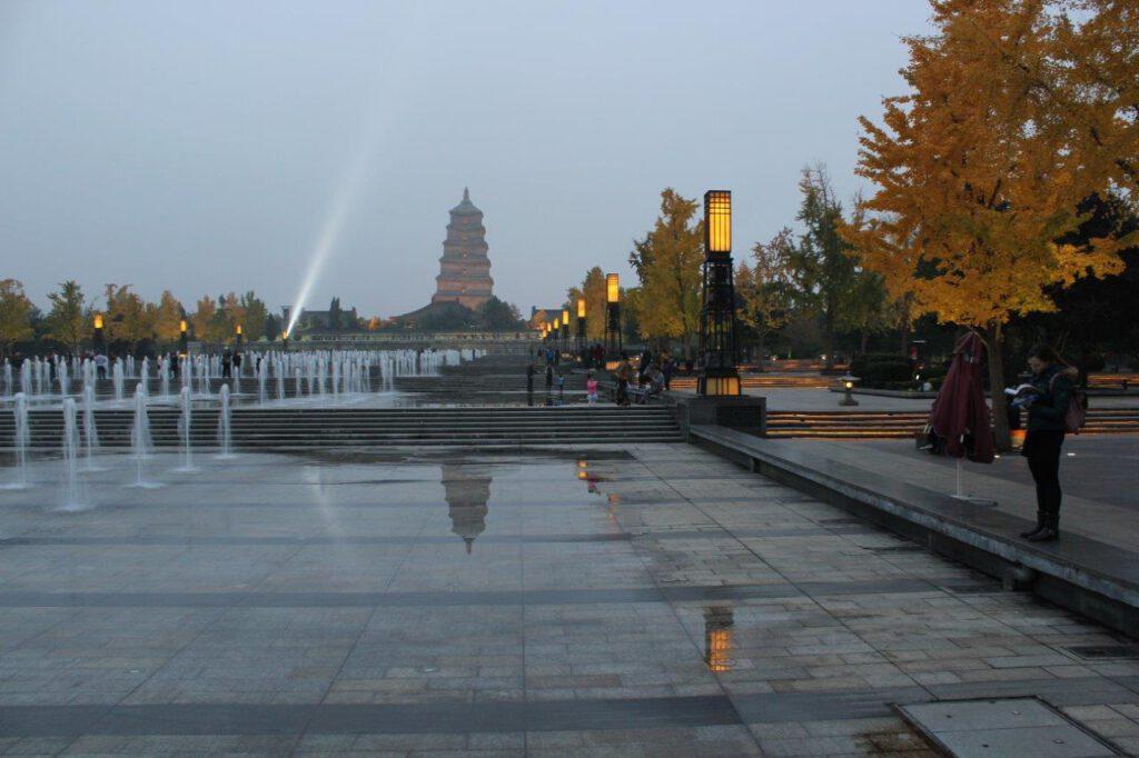 Big Wild Goose Pagoda Xi'an