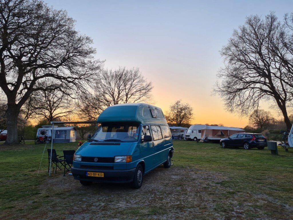 Camping voor tweedehands campers: Huttopia De Roos
