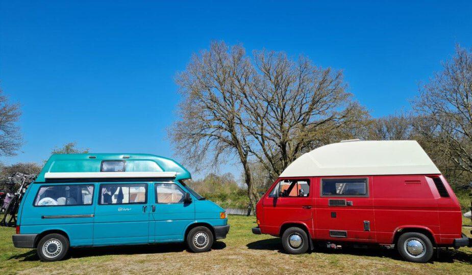 Camping tweedehands campers