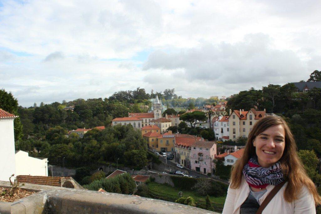 Bezoek aan Sintra tijdens een vakantie in Portugal