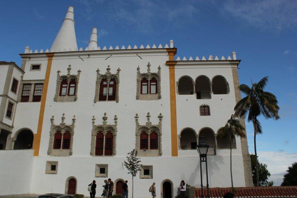 Het paleis van Sintra
