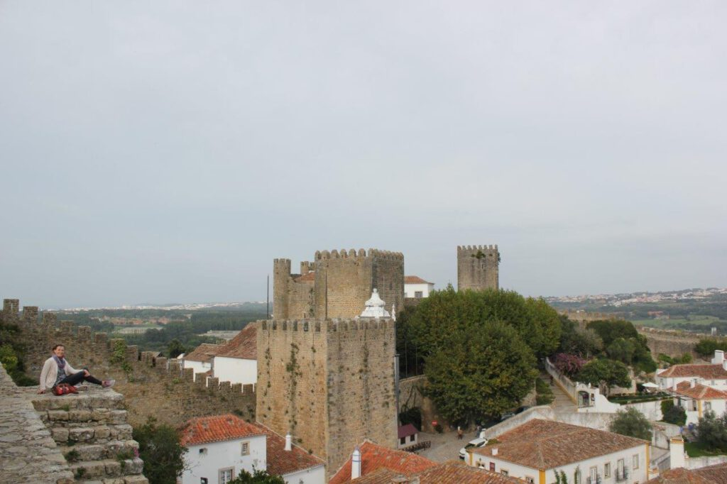 Een bezoek aan Obidos tijdens een reis naar Portugal