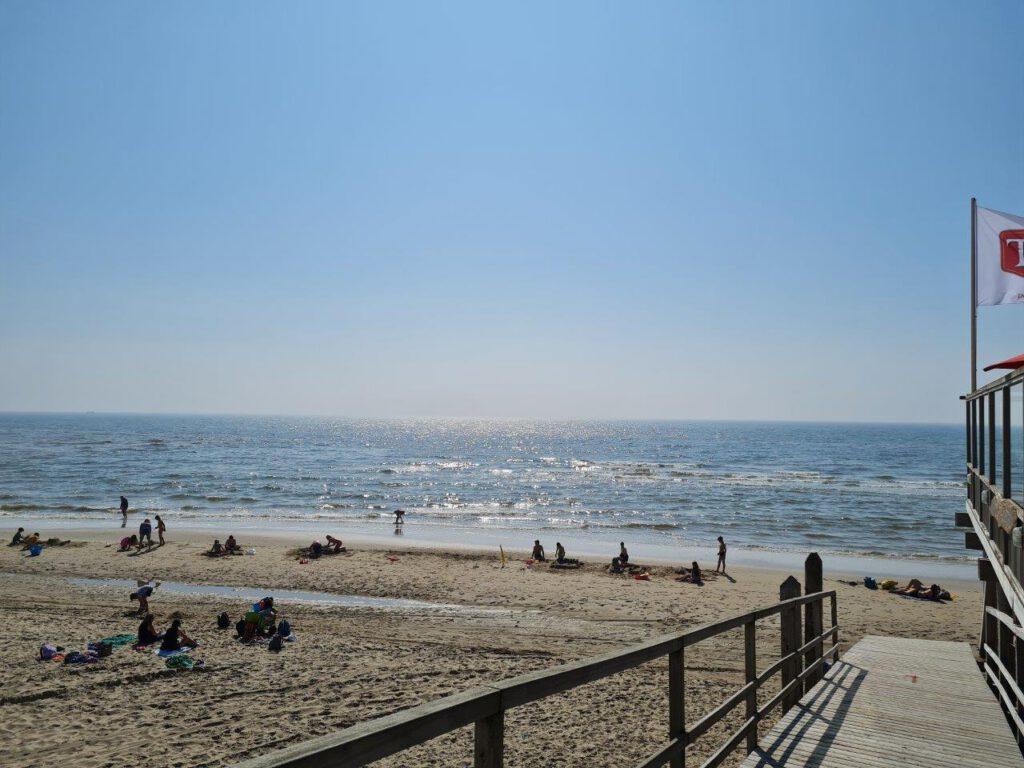 Het strand van Camperduin