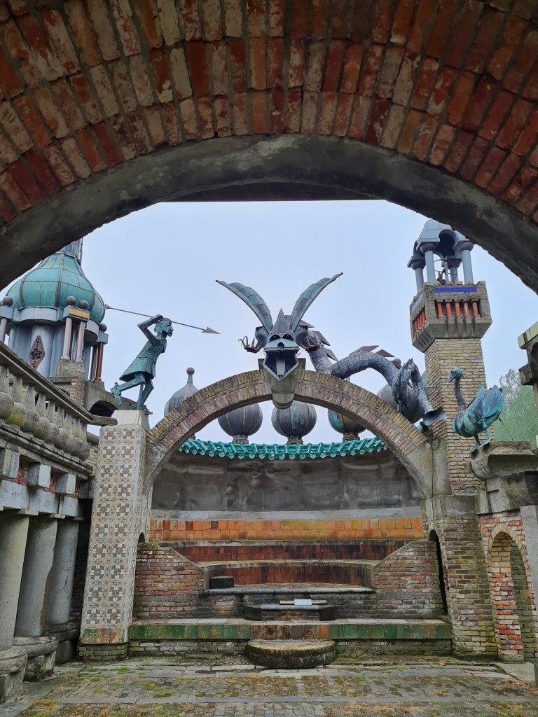 Een van de folly's van Nederlands Kremlin