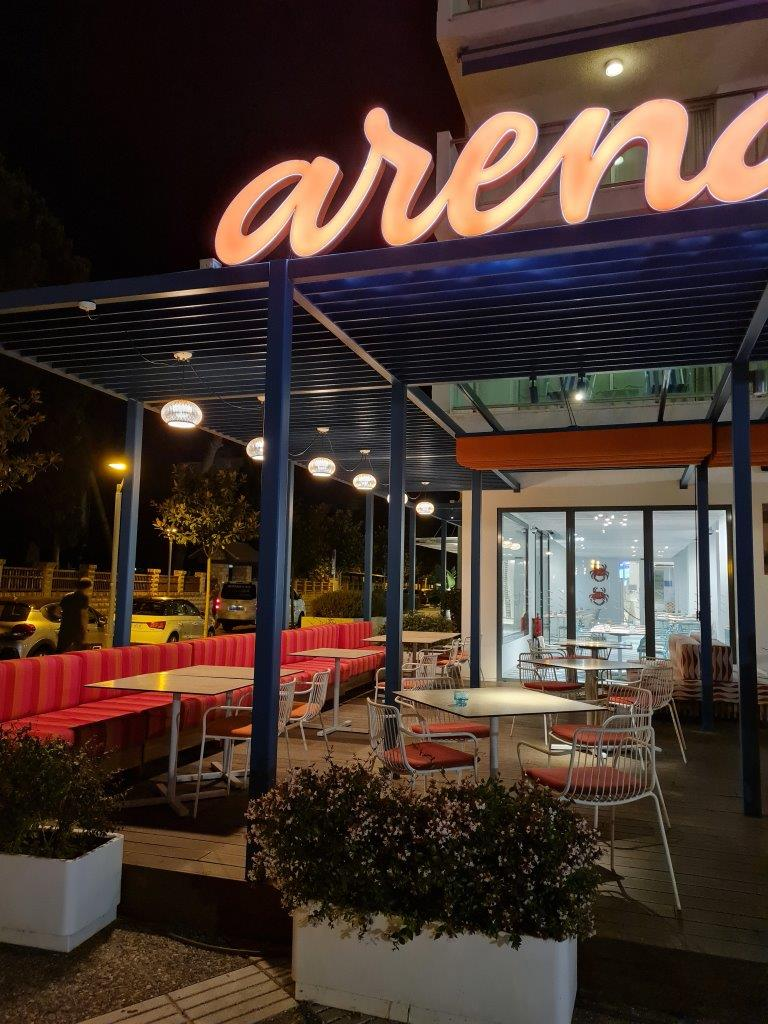 Arena restaurant in Salou