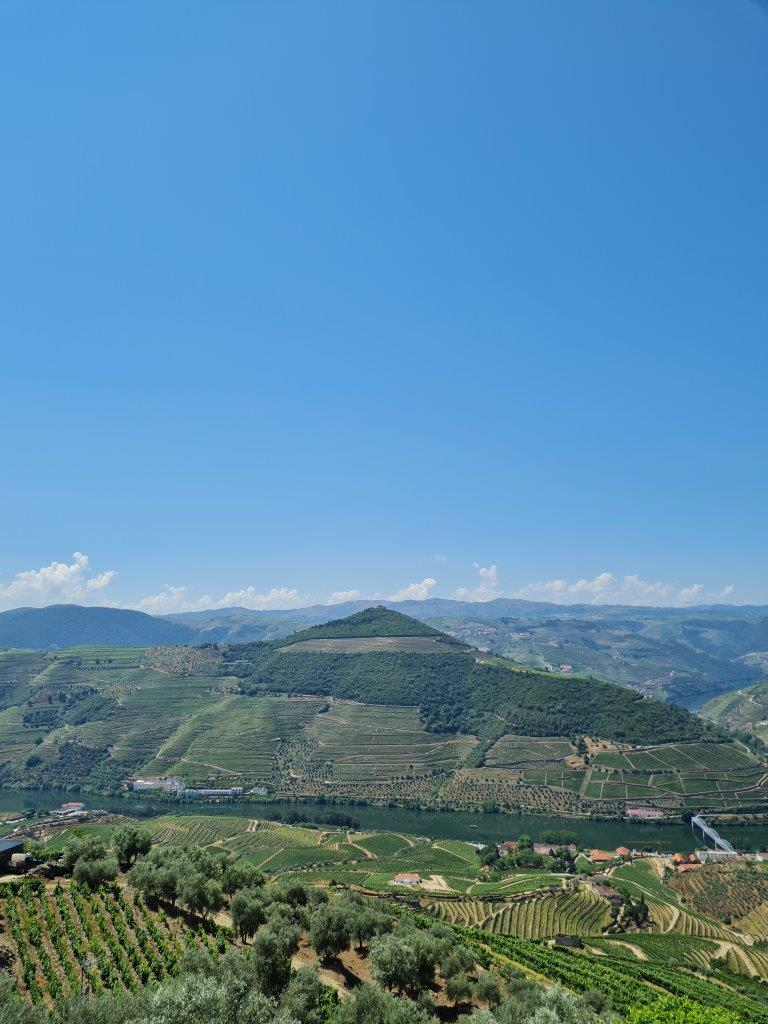 Uitzicht bij Casal de Loivos