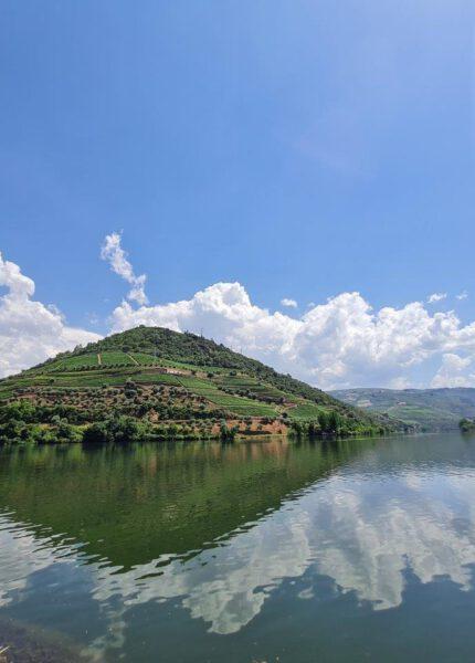 Uitzicht over de Douro bij Pinhao Portugal