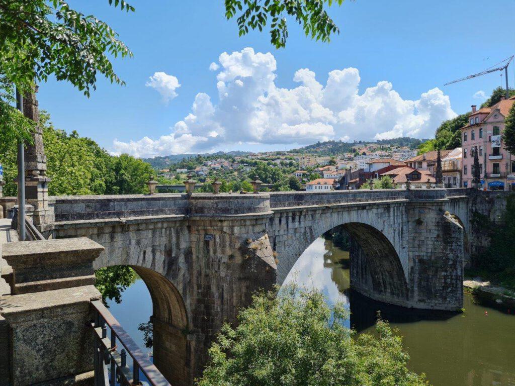 Amarante tijdens een vakantie in Portugal