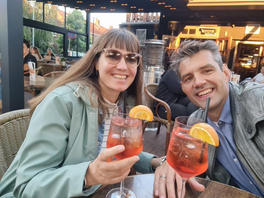 Aperol spritz drinken bij de Balustrade voor het ultieme vakantiegevoel