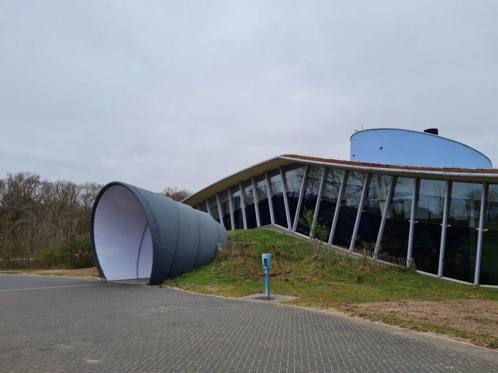 Bezoekerscentrum De Hoep tijdens een vakantie in Castricum